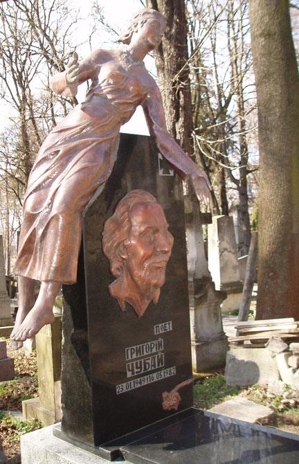 Могила Грицька Чубая на Личаківському кладовищі